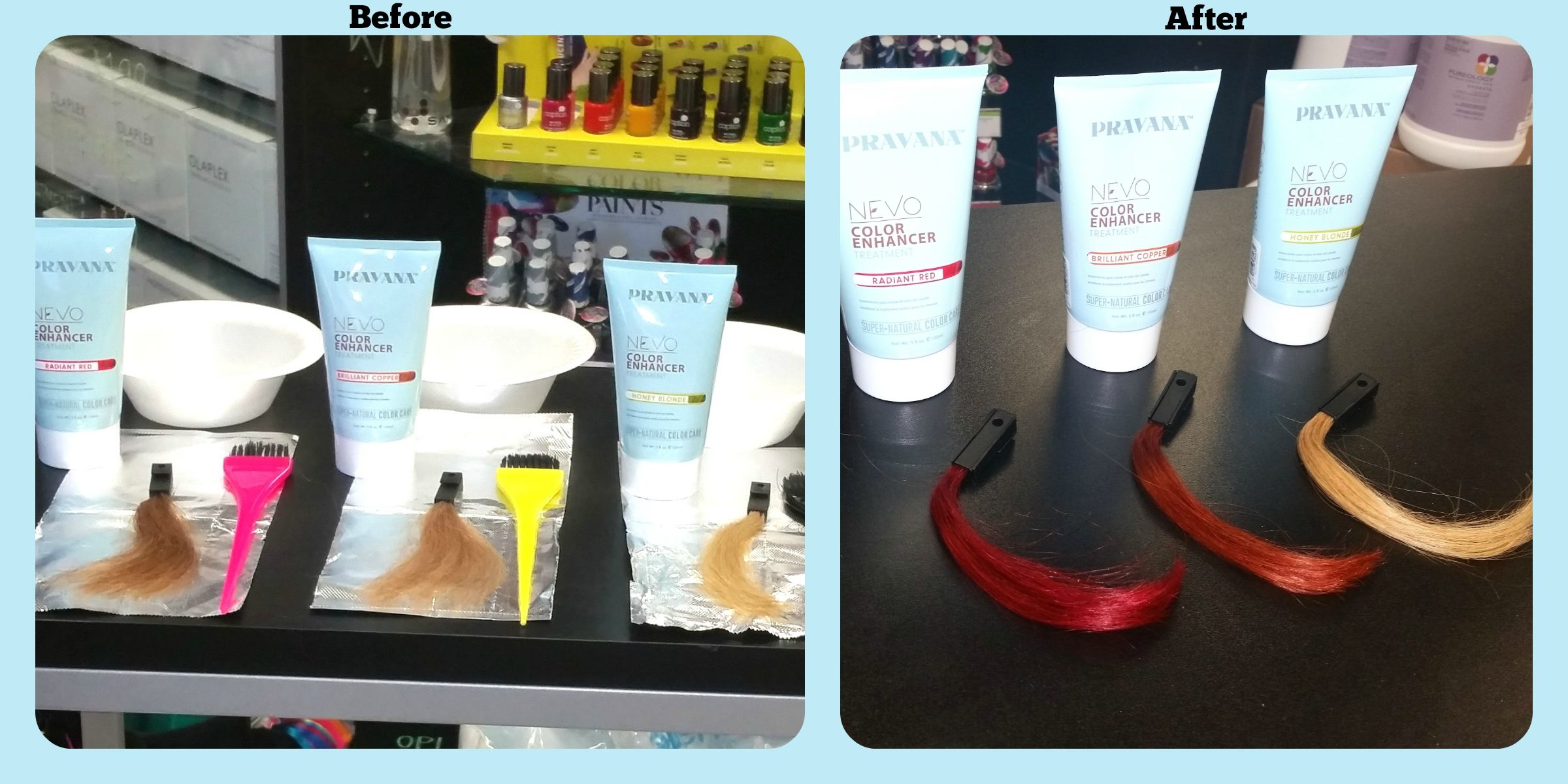 Do You Have Hair That Never Holds Red Or Copper Pravana Nevo