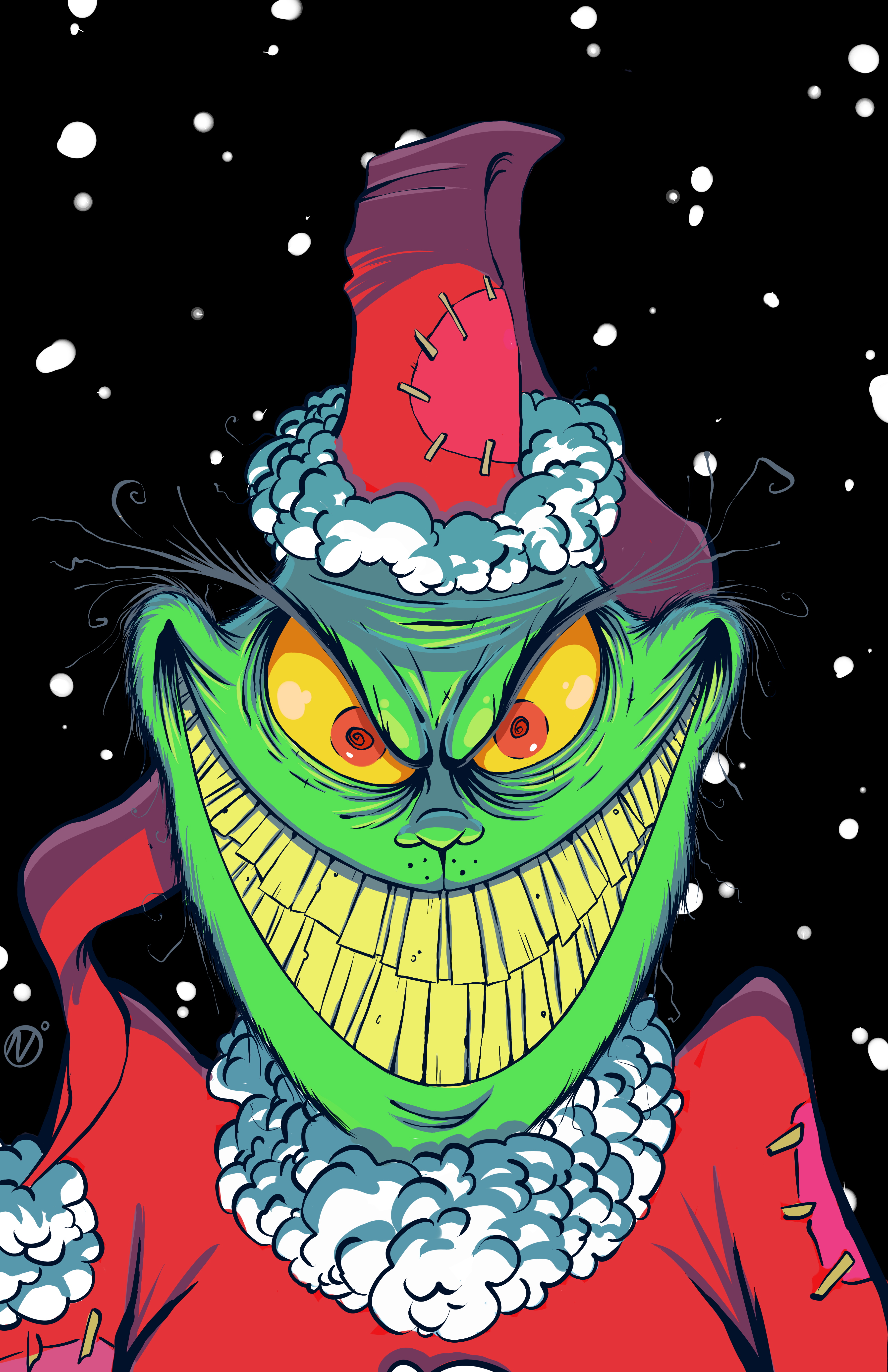 How the Grinch Stole Christmas - color ...