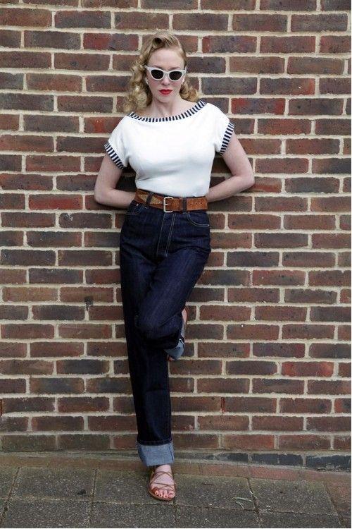 Freddies Of Pinewood 1940s Norma Jeans Retro 1950s