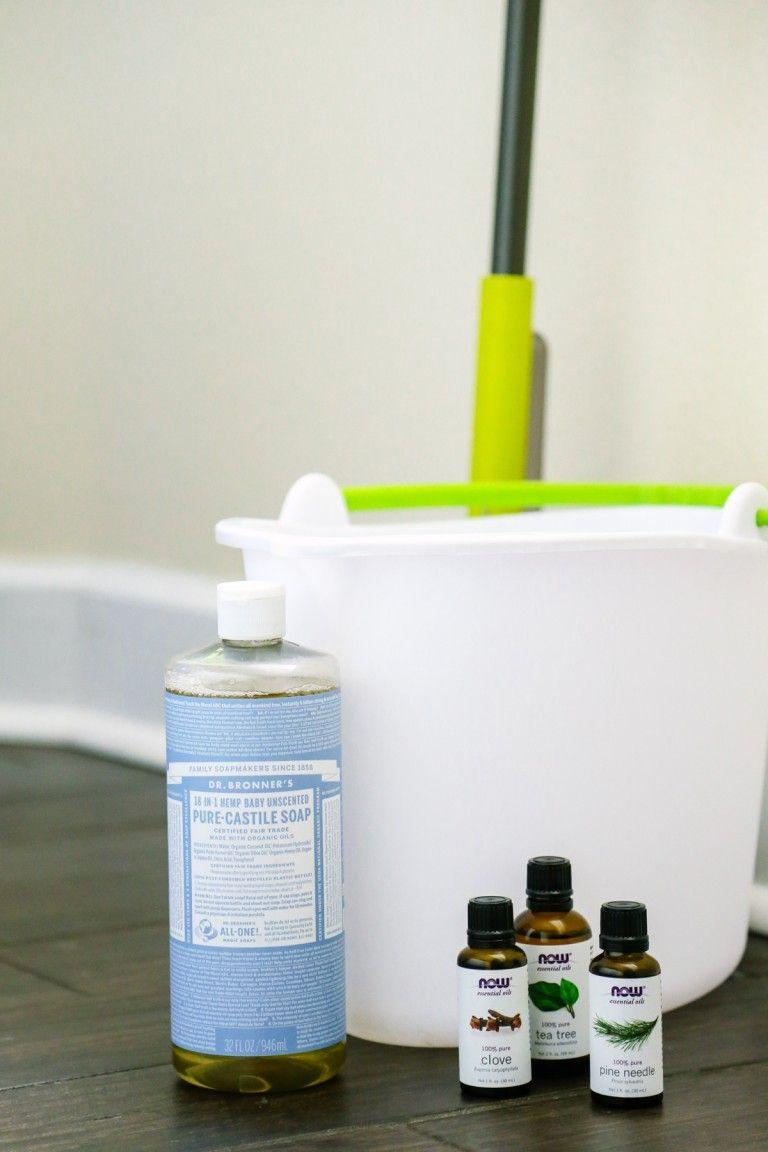 Homemade MultiSurface Floor Cleaner (No Vinegar
