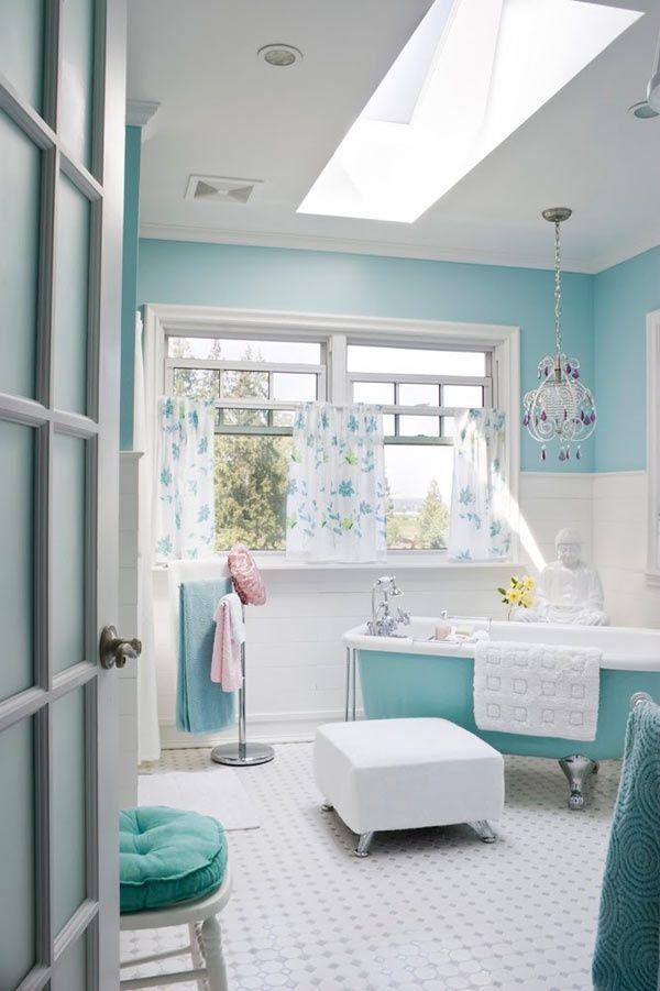 Choisir la couleur de la salle de bain \u2013 21 Idées de couleurs