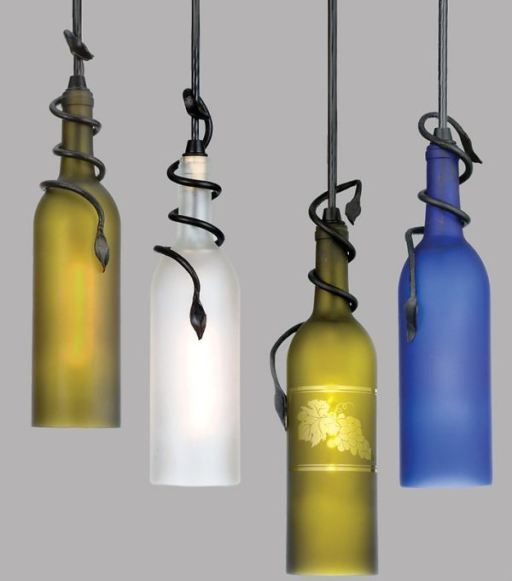 Ordinaire How To Make DIY Recycled Wine Bottle Pendant Lights | DIY Tag