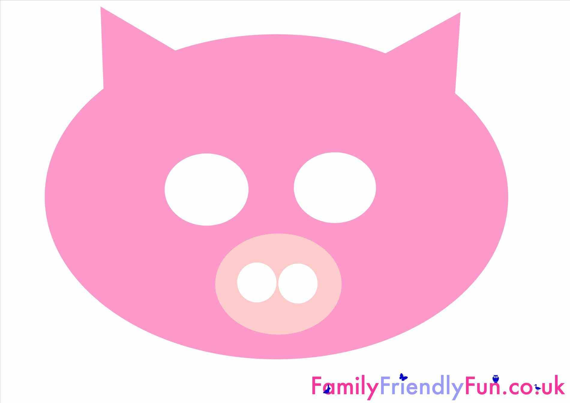 sheep pig mask templates mask template buscar con google u pinteresu