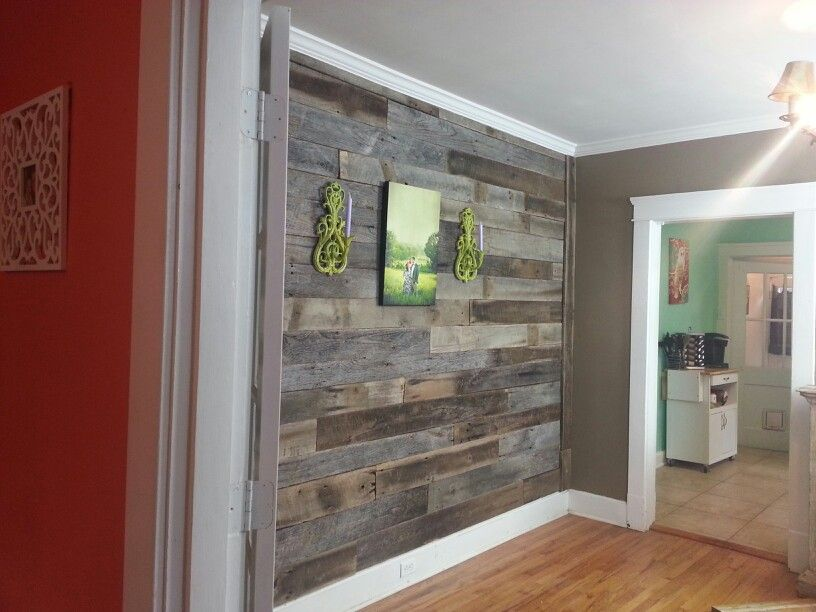 Reclaimed barnwood wall from Tennessee Wood Flooring in Sevierville, TN. :) - Reclaimed Barnwood Wall From Tennessee Wood Flooring In