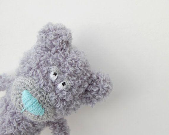 Crochet Teddy  Bear toy soft stuffed animal Kids by RomeoShop