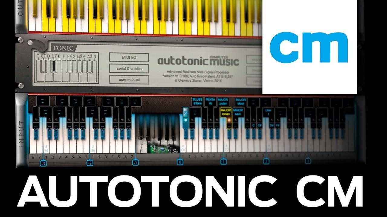 FREE PC/Mac MIDI Chords & Scales App AutoTonic CM YouTube