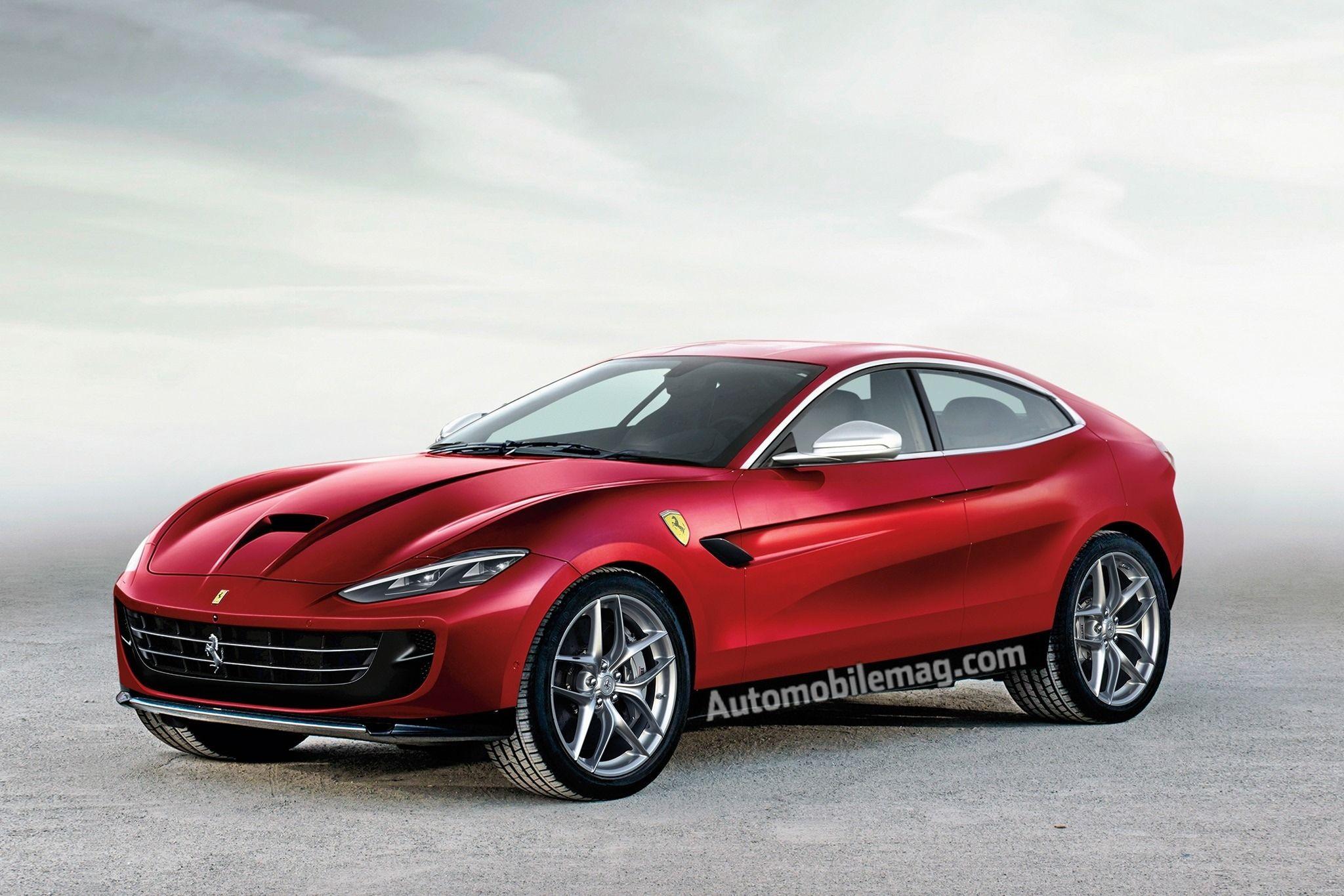 2019 Ferrari Suv New Interior Dengan Gambar Mobil Mewah Mobil