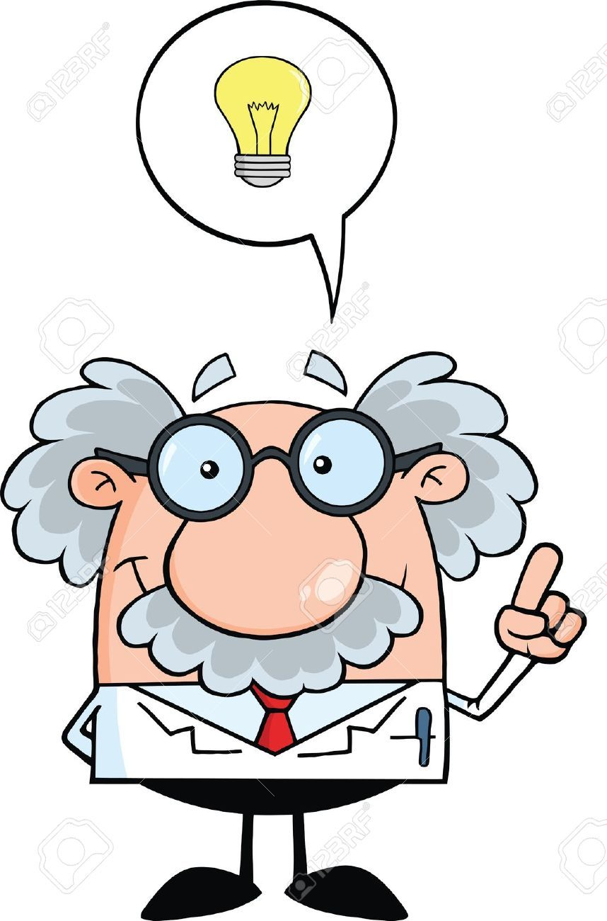 Thinking scientist. Image result for clipart