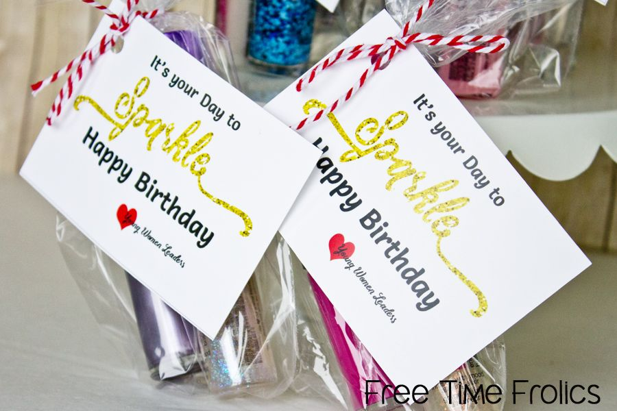 sparkle birthday printable