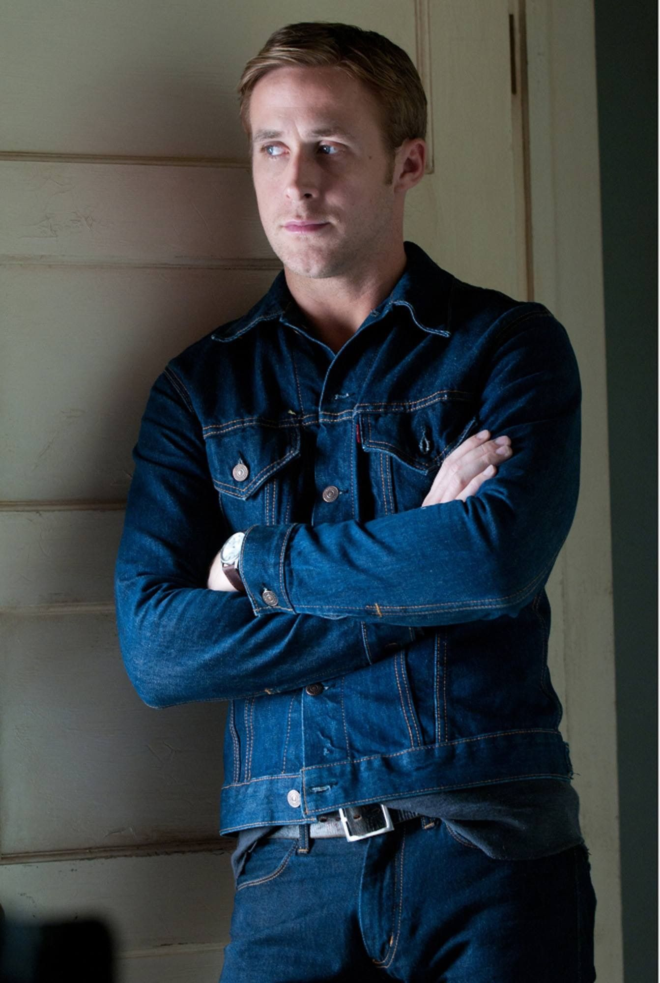 Pin By Vivian On Ryan Gosling Ryan Gosling Style Denim Stylish Mens Outfits