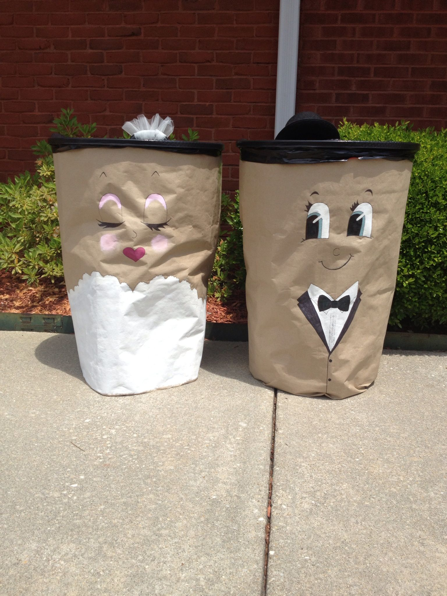 Cute Garbage Cans The Wedding Pinterest Kids Rooms