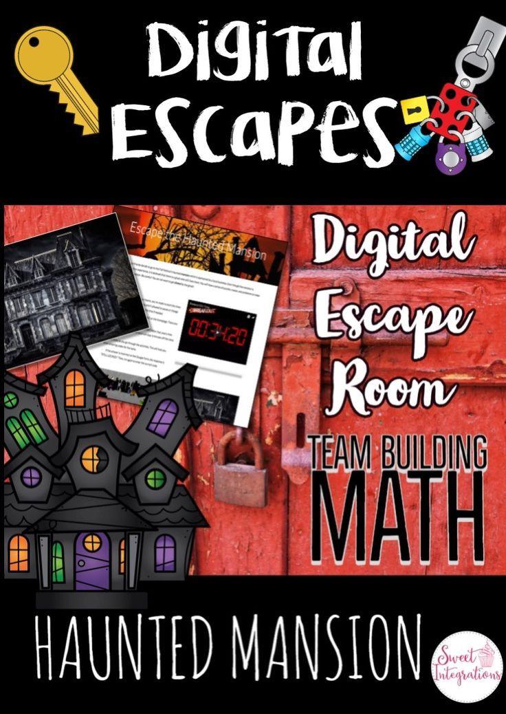 DIGITAL ESCAPE ROOM HALLOWEEN THEME Escape the Haunted
