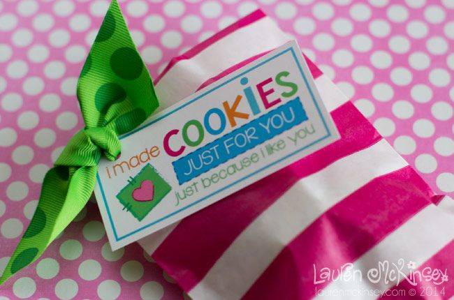 Cookies just for you printable collection from lauren mckinsey cookies just for you printable collection from lauren mckinsey gift tags negle Image collections