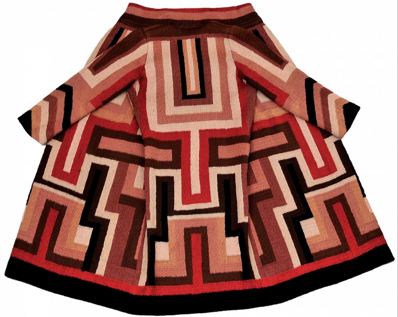 Sonia Delaunay: Coat made for Gloria Swanson (1924)