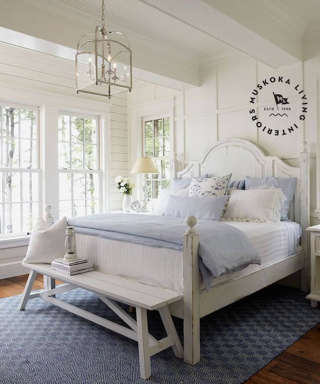 Inspired By Lake House Style Cottage Style Bedrooms Bedroom Design Inspiration Small Master Bedroom