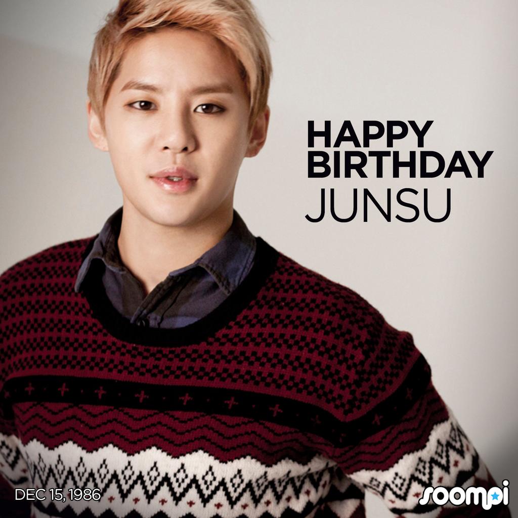 Happy Birthday to JYJ's Junsu! HappyJunsuDay Happy