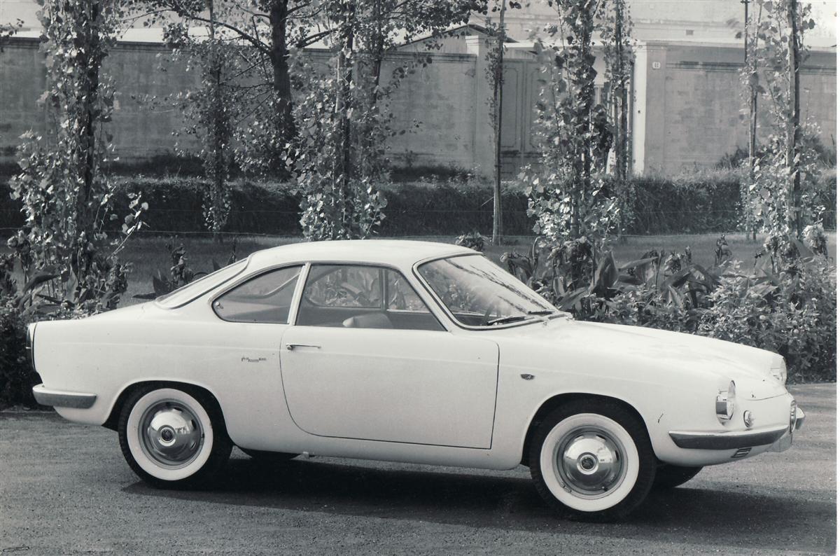 1959 Abarth 850 Coupé Scorpione (Allemano)