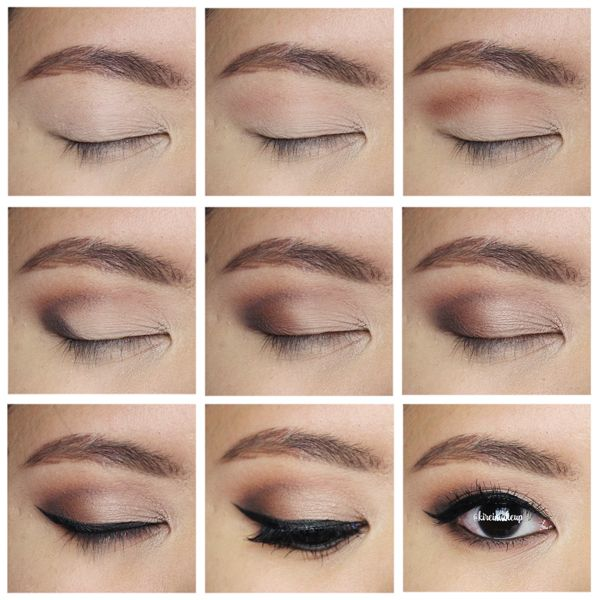 Neutral Smokey Eyes Holiday Makeup Wedding Makeup For Brown Eyes