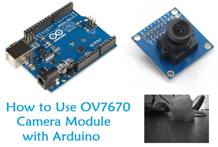 How to Use OV7670 Camera Module with Arduino | Arduino Projects in