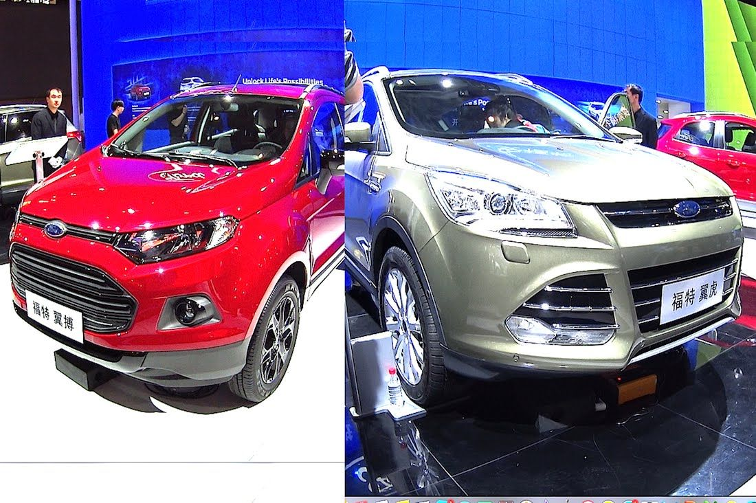 2016 2017 Ford Kuga Escape Titanium 30k Usd Vs Ford Ecosport Titanium 110hp 19k Usd