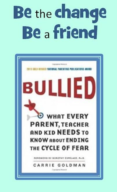 """Bullying. You can make a difference. Why adoptive families should care so deeply. """"Bullied"""" offers a range of well-researched approaches. Read the blog post & review http://wp.me/p4r2GC-Tl"""
