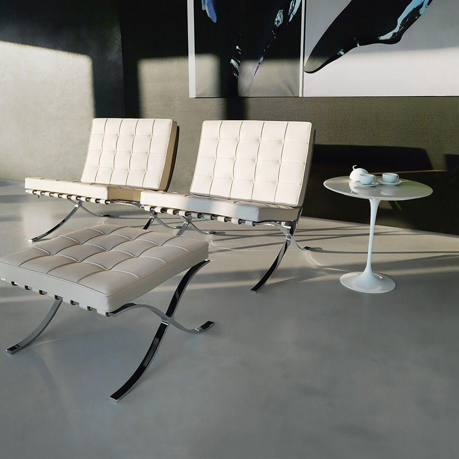 5 1 Tijdloze Top Designstoelen Barcelona Chair Model 250l