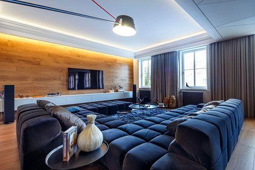 Luxe woonkamer met mannelijk tintje - Living | Pinterest - Luxe ...
