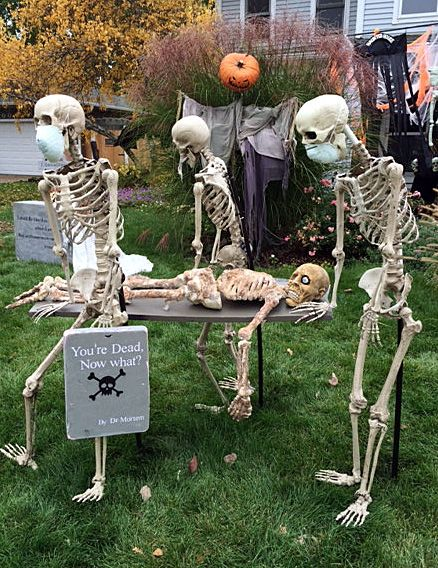 2 sets of Hallloween Zombie Arms Perfect for all Halloween Yard Displays 4