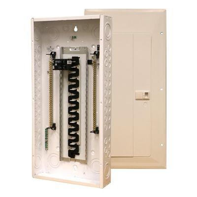 Eaton Eaton 40 80 Circuit Loadcentre With 200 Amp Main Breaker Hardware Storage Locker Storage Exterior Cladding