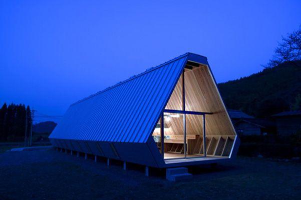 Onigiri House, Saiki, Japan by NKS architects.