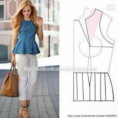 Patrones de blusas / Artesanía