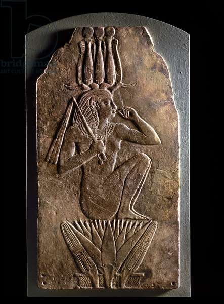 extraterrestre egyptien au lotus