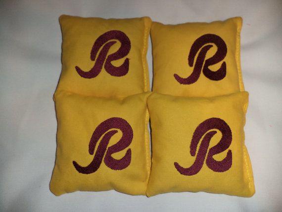 Amazing Cornhole Bags Washington Redskins Corn Hole Bean Bags 4 Aca Uwap Interior Chair Design Uwaporg