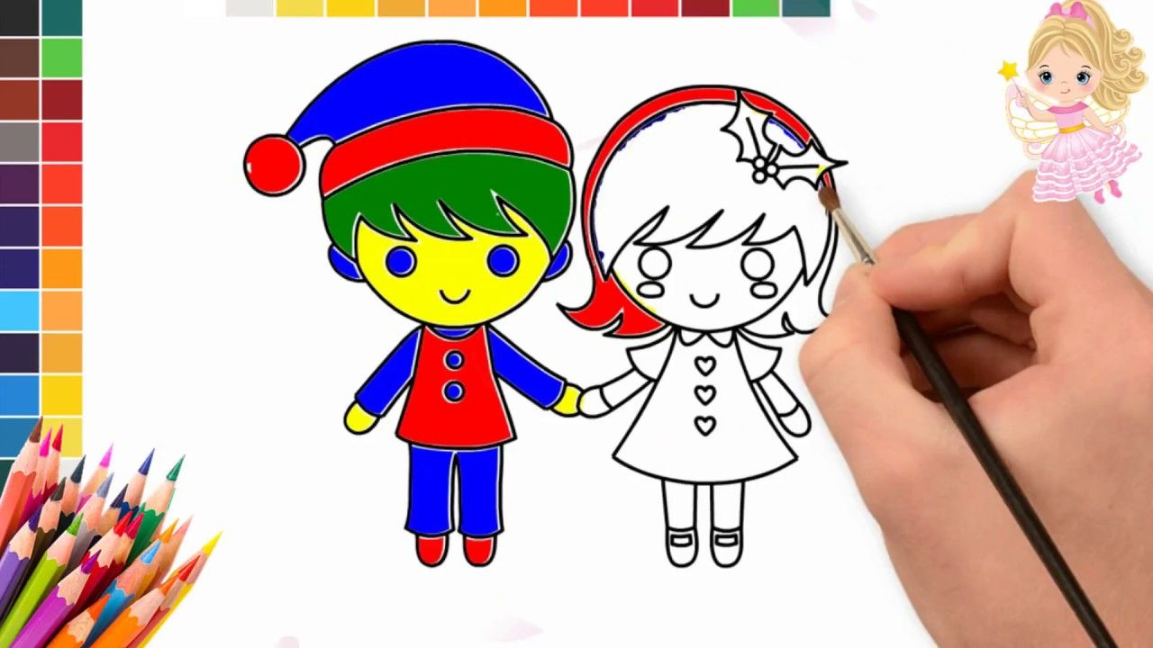 Little Bride And Groom Coloring Pages Wedding Couple Coloring