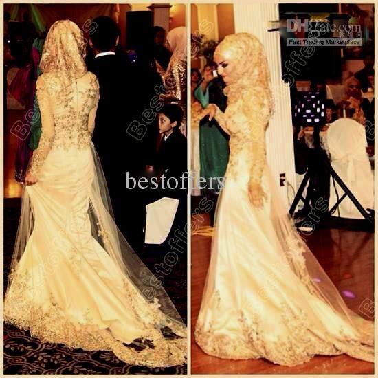 Wholesale Wedding Dresses.Wholesale Wedding Dresses Buy Mermaid Muslim Wedding Dress With