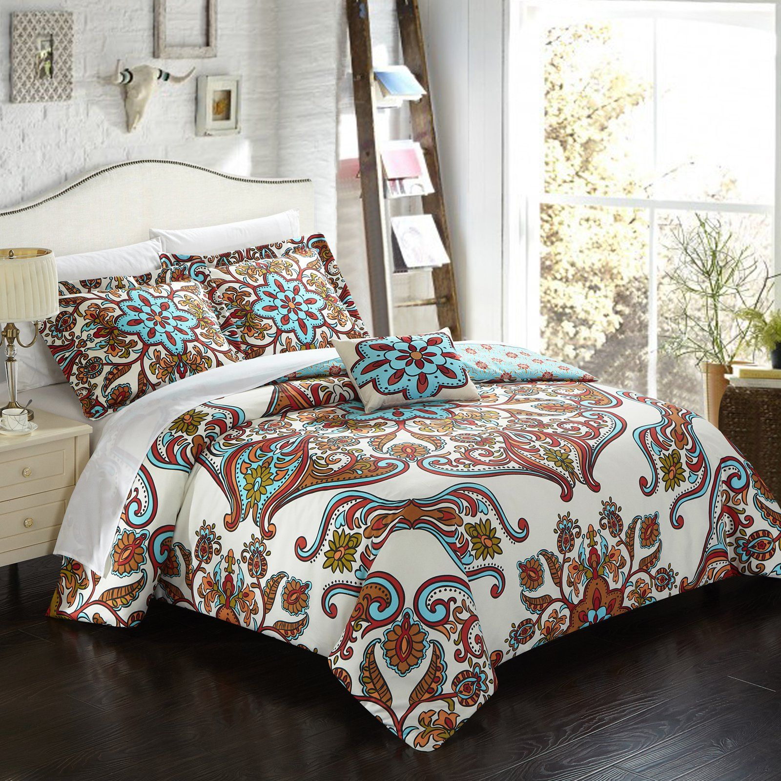 Evans 8 Piece Bed In A Bag By Chic Home Duvet Cover Sets Duvet