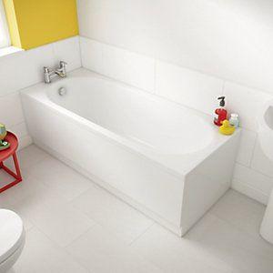 wickes luxury reinforced front panel 1800 mm   bath panel