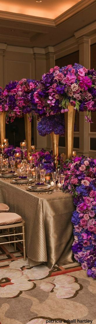 Wedding Decor House Of Beccaria Purple Wedding And Prom Ideas
