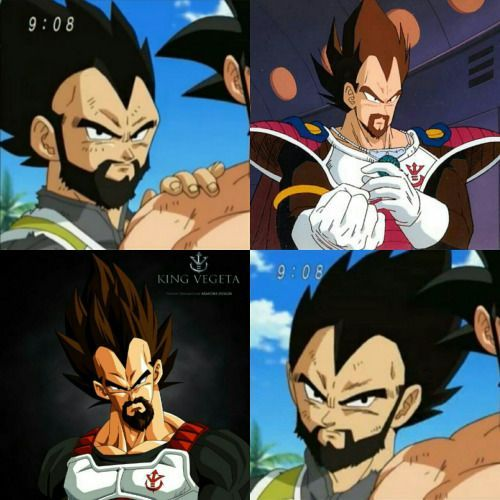 Vegeta And His Father Comparison Visit Now For 3d Dragon Ball Z Compression Shirts Now On S Anime Dragon Ball Super Dragon Ball Image Dragon Ball Super Funny