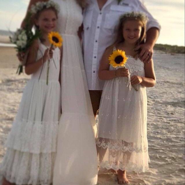 Photo of Flower Girl Lace Dress, Flower Girl Dress, Bo …