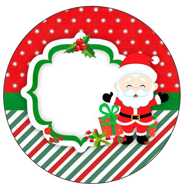 Feliz Navidad Rotulos.Rotulo Personalizado Para Latinha E Toppers Kit Natal