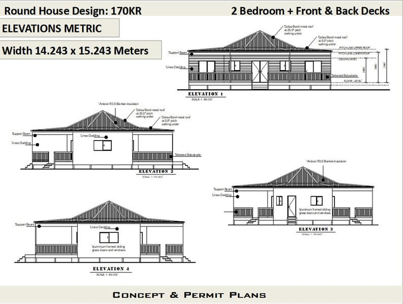 1830 Sq Feet Or 170 M2 2 Bedroom 2 Bed Granny Flat Small Home Design 2 Bedroom Granny Flat Modern Home Small Tiny Round Home Round House Plans Tiny House Floor Plans Modern House Floor Plans