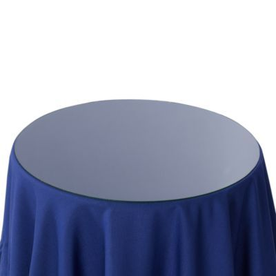 Round 20 Inch Glass Table Topper What About This Instead Of A