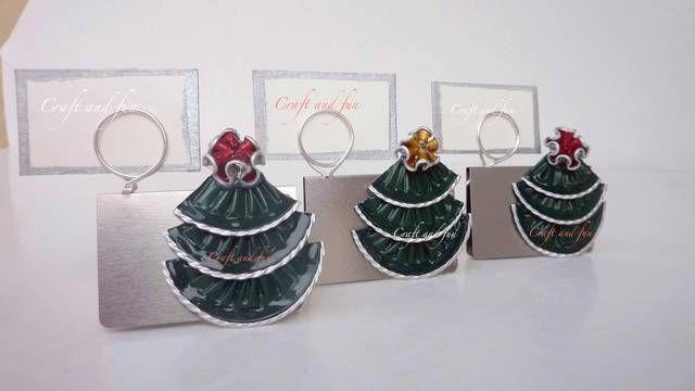 Segnaposto Natale Lavoretti.Segnaposto Di Natale Con Cialde Di Caffe Craft And Fun