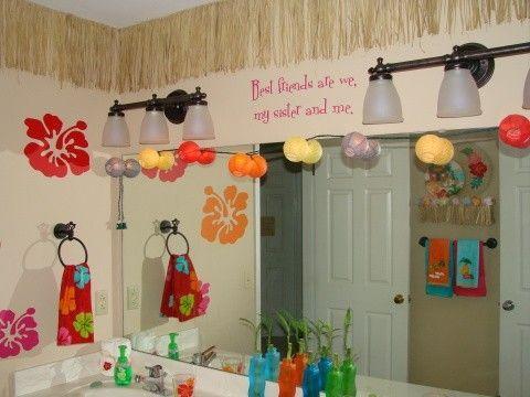 Hawaii Themed Bathroom Hawaiian Decor Disney Home Decor