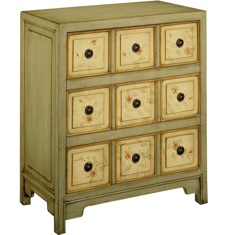 Lark manor paras arm chair amp reviews wayfair ca - One Allium Way Vera Hand Painted 3 Drawer Chest