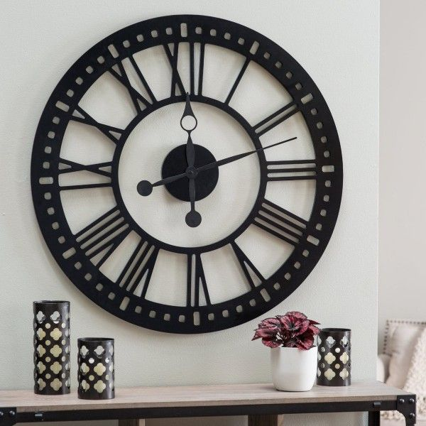 vibrant idea 30 inch clock. 30 Large Wall Clocks That Don t Compromise On Style  Cool