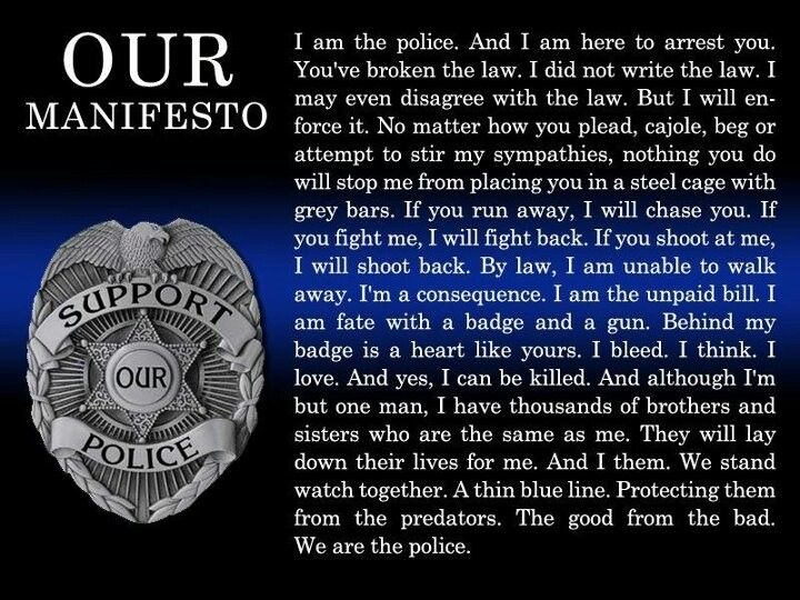 I Am The Law Movie Quote: We Are The Police. #Police #Quotes