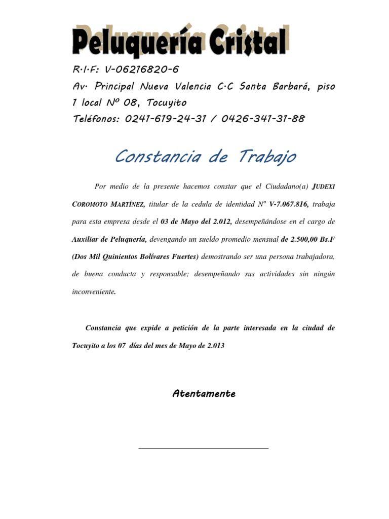 Trabajo Personal Trabajo Formato De Carta De Recomendacion Resultado De Imagen Para Carta Laboral Persona Natural Carta