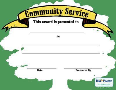 Service Award Certificate Girl Scouts Pinterest Certificate - sample certificate of service template
